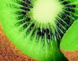 ... in kiwi's en in citrusvruchten