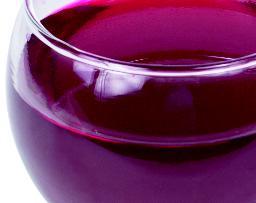 Zuur zit onder andere in wijn ...
