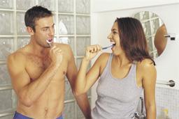 tandenpoetsen-stel