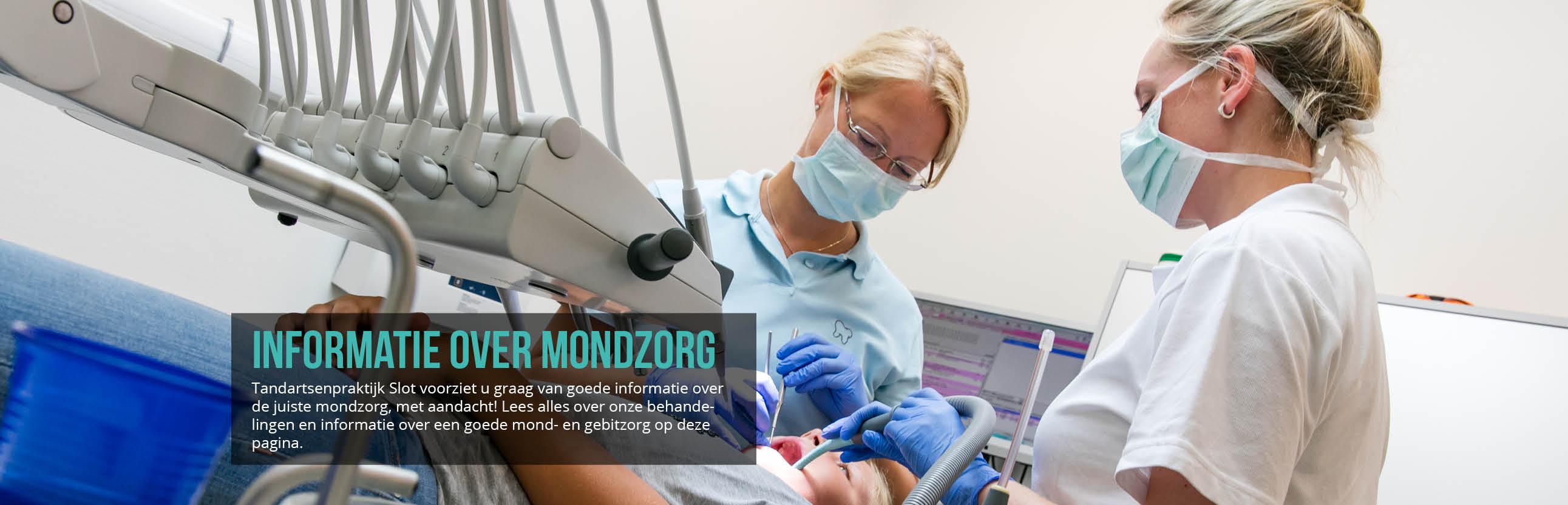 tandartsenpraktijk slot informatie over mondzorg